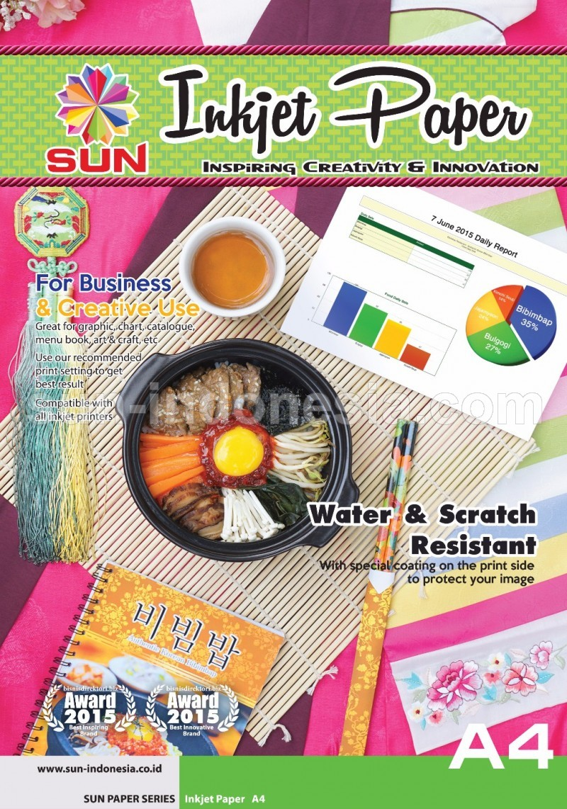 SUN Next Generation INKJET PAPER Double Side A4