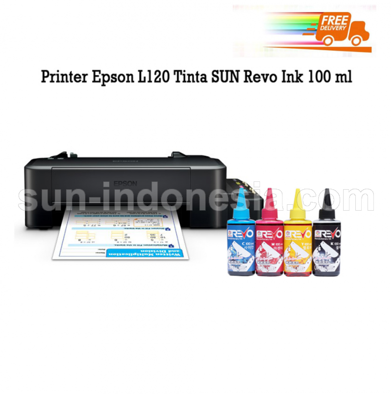 PRINTER EPSON L120 TINTA SUN REVO 100 ML
