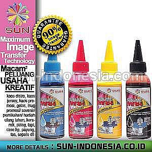 SUN SUBLIME MAX INK 100 ML (SET 4 WARNA)