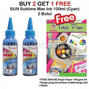 SUN SUBLIME MAX INK 100 ML (BUY 2 GET 1 FREE)