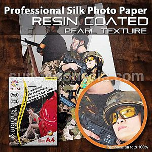 SUN Professional Silk Photo Paper 265 4R PEARL Texture