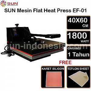 Mesin Press Kaos Sablon Digital Flat EF - 01 40 X 60