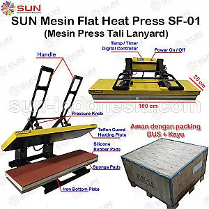 Flat Heat Press SF-01 25 x 100 cm