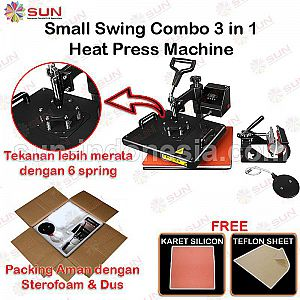 Simple 4 In 1 Combo Heat Press Machine