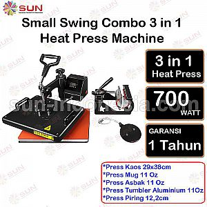 Simple 3 In 1 Combo Heat Press Machine